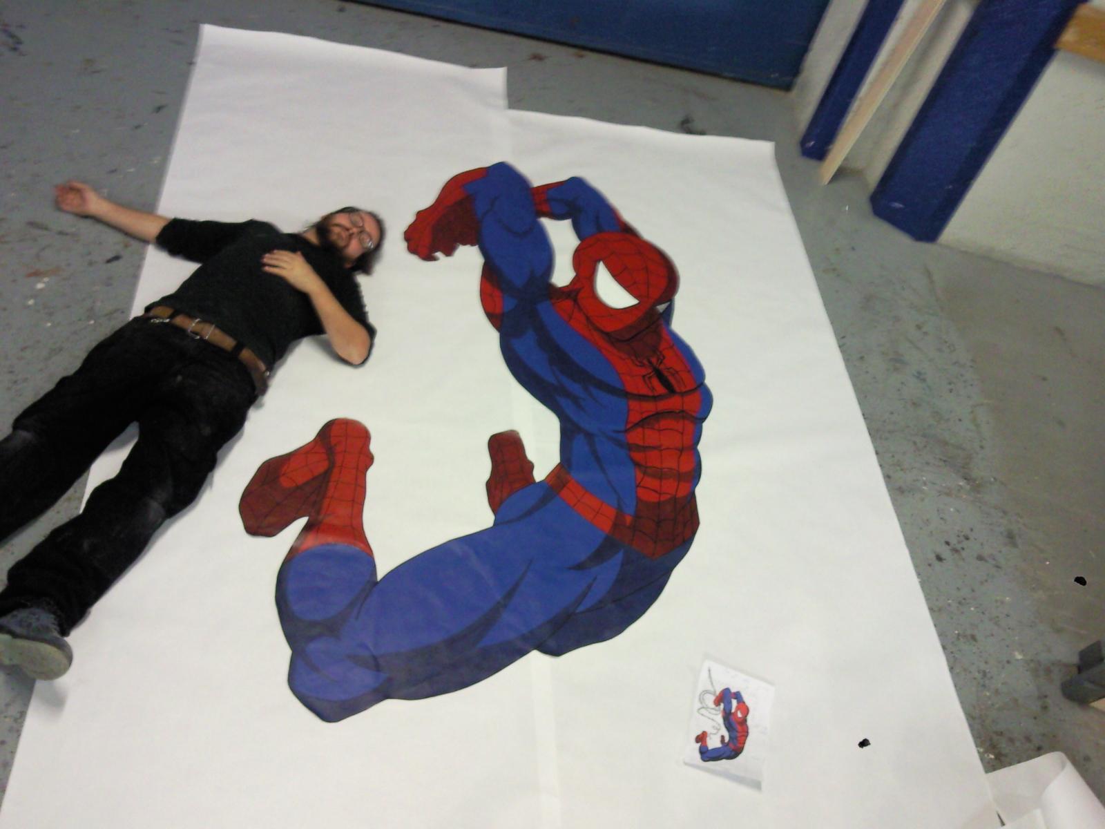 Como hacer un Spiderman – Real props & 3D digital